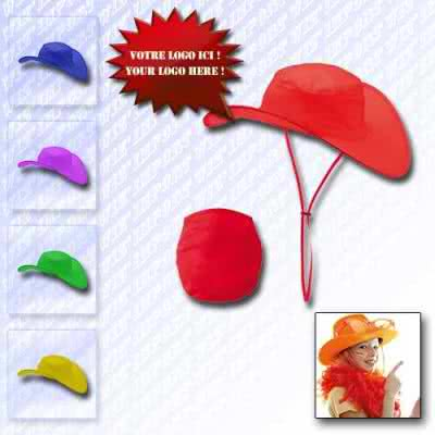 Chapeau country pliable