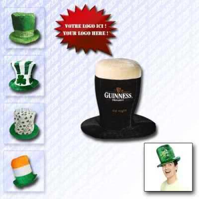 Chapeau design irlandais St. Patrick